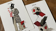 Ravn Iiii Red Playing Cards Deck Designed By Stockholm17 Brand New