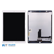 For Ipad Pro 12.9 Replacement Lcd Screen Digitizer Soldered Parts White Oem