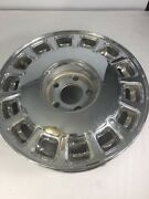 Chrome Rim For Chevy Cadillac Gm Oem 14 Slot 16 In 07217464 Vintage Auto Tires