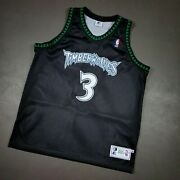 100 Authentic Stephon Marbury Vintage Starter Wolves Jersey Size 48 Xl Mens