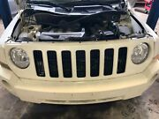 Front Bumper Grille Cover Without Tow Eye Hook 2007 2008 2009 2010 Jeep Patriot