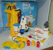 Vintage Liandrsquol Playmates Space Shuttle Playset Incomplete In Box 1989 Nasa Rocket