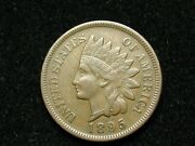Spring Sale Xf 1895 Indian Head Cent Penny W/ Diamonds And Full Liberty 166w