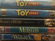 Lot Of 6 Vhs Toy Story Beauty And The Beast The Little Mermaid The Wizard Of Oz