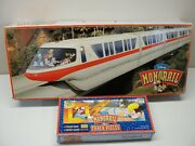 Walt Disney World Monorail Toy And Extra Track Pieces
