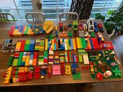 Lego Duplo Lot - Mixed Pieces / Figures / Vehicles - 20 Lbs
