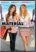 Material Girls Dvd 2006 Canadia Dual Side Eng, Sp, Fr, Haylie And Hilary Duff R1