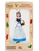 Disney Store Sketchbook Ornament 2016 Belle Variant Beauty And The Beast Nib Nwt