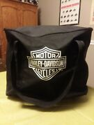 Harley Davidson Charcoal Barbecue Grill Portable Bag Tools Utensils Set In Euc