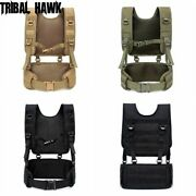 Vest Tactical Molle Military Combat Assault Airsoft Police Gear Bag Swat Hunting