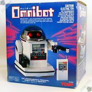Tomy Omnibot Tr5000 Personal Robot Heroid Vintage Space Toy Japan New Sealed