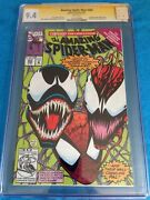 Amazing Spider-man 363 - Marvel - Cgc Ss 9.4 Nm - Signed By Mark Bagley