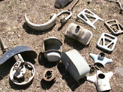 Old Lambretta Cushman Silver Pigeon Asstd Scooter Parts All Or Make Offer