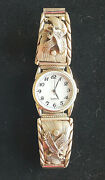 Native American Sterling Silver Watch Eagle Design Signed S.ray  Weight 55.4g