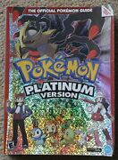 Pokemon Platinum Version Nintendo Ds Official Strategy Guide Book Used