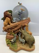Disney The Lion King The Circle Of Life Musical, Animated Snowglobe Works