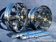 Harley Chrome 14-19 Enforcer Wheels W/ Rotor Legs Street Glide Exchange Program