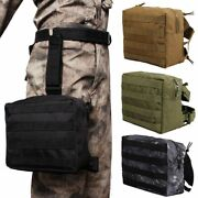 Tactical Waist Bag Leg Thigh Belt Pack Drop Military Outdoor Hiking Hunting Army