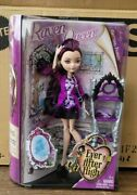 2013 New Ever After High Getting Fairest Queen Raven Doll 1st Edition Case Fresh