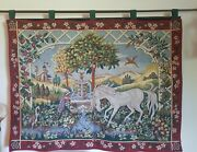 Vintage 1989 The Franklin Mint Unicorn Summer Tapestry By David Cornell France