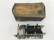 Vintage 1915 Meccano E2 Electric Toy Motor In Box Works