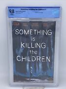 Something Is Killing The Children 1 9.8 Cbcs 1st Print Boom Not Cgc Iconic