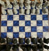 2002 Harry Potter Wizard Chess Set Playing Board Pieces Game Mattel Box German