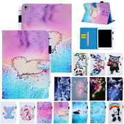 For Ipad 5/6th Gen Air 1 2 Mini Leather Wallet Flip Magnetic Back Cover Case