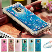 Dynamic Liquid Quicksand Glitter Shockproof Case Cover For Samsung Galaxy Phones
