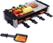 Aoni Raclette Table Grill, Electric Indoor Grill Korean Bbq Grill