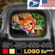 Red Green Dot Holographic Sight Scope Hunting Red Dot Reflex Sig 551 552 553 558
