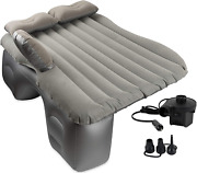 Olivia And Aiden Inflatable Car Air Mattress With Pump Portable Travel Camping