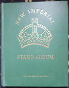 Br. Empire Colln- New Imperial Album Vol2 Mint And Used Stamps1840-1936 Ca41