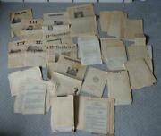 Complete History 9th Army Ww2 In-theater Restricted Memos 1944 And 1945
