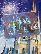 Disney Parks Shag Haunted Mansion 31 Ghosts Right Side 5x7andrdquo Postcard