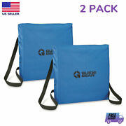 2 Floatable Boat Seat Cushions Emergency Coast Guard Certified Throwable Safety