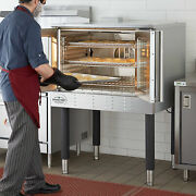 New Single Deck Natural Gas Full Size Commercial Convection Oven With Legs 120v