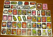 2011 Topps Wacky Packages Sticker Lot 51 With Bonus 2012 Dotsie Duds Card