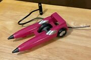 Nice Vintage Kenner Ssp Two Much Derby Smash Car W/ Ripcord