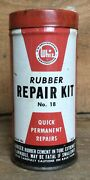 Vintage Whiz Rubber Tube Repair Kit Tin Can Gas And Oil Advertising