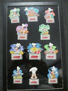 Disney- Cooking With Mickey Disney Auction 11 Le 100 Pins