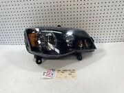 2014 2015 2016 2017 Dodge Caravan Town And Country Right Side Black Headlight Oem