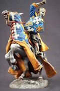 Tin Toy Soldiers 90 Mm Superb Elite Painting In St.petersburg.medieval Knight
