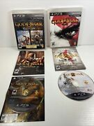 God Of War Collection 1 2 And 3 Sony Playstation 3 2010 Ps3 Complete