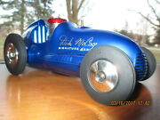 2 Vintage Tether Midget Race Cars Nylint Real Mcoy And Thimble Drome Mint