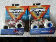 2021 Spin Master Monster Jam Northern Nightmare And Hurricane Force Series 15