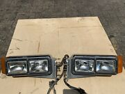Peterbilt 379 Headlights Driver And Passenger W/ Bolts And Harness Included