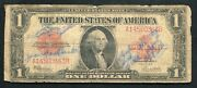 Fr. 40 1923 1 One Dollar Red Seal Legal Tender United States Noteandnbsp