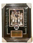 1992 Nba Dream Team Usa Picture Frame Limited Edition 34/92 Jersey Rare