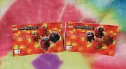 Lego® Minecraft™ 21106 Micro Word - The Nether - Instruction Manuals 1 And 2